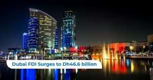 Dubai FDI Surges to Dh46.6 billion
