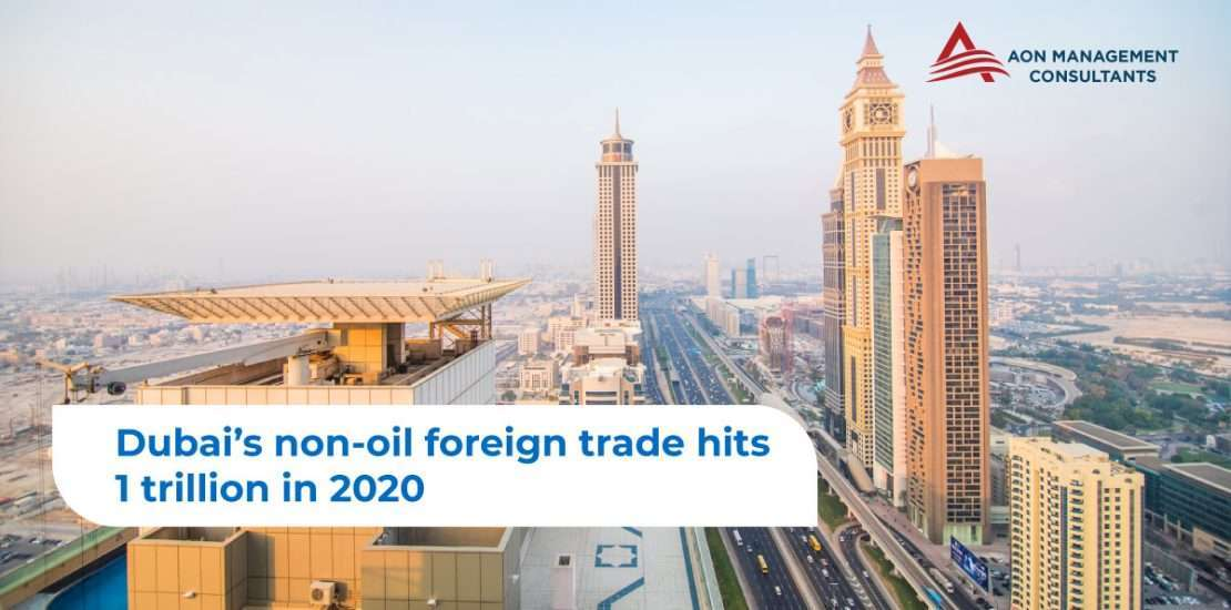 Dubai's Non-oil Foreign Trade hits 1 trillion in 2020